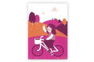 girl's-bicycle-greeting-card-1973