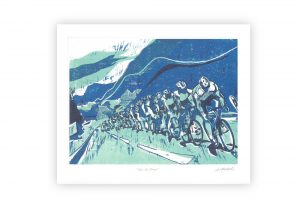 art-angels-tour-de-france-bicycle-greeting-card