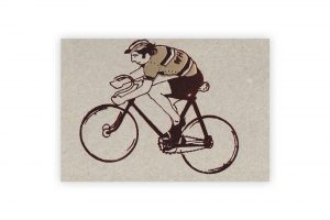 eddy-merckx-gold-and-red-bicycle-greeting-card-by-kim-jenkins