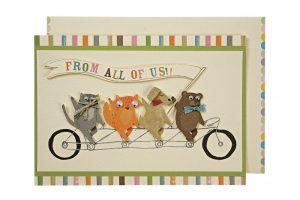 tandem-pets-embellished-bicycle-greeting-card