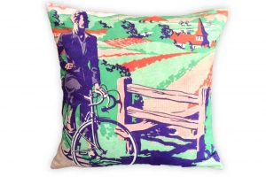 cyclemiles-vintage-blue-and-green-bicycle-cushion