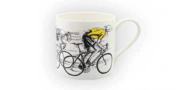 special-edition-mclaggan-smith-sprint-finish-tour-de-france-mug