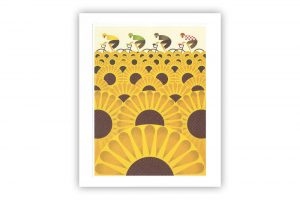 les-tournesols-bicycle-greeting-card-eleanor-grosch