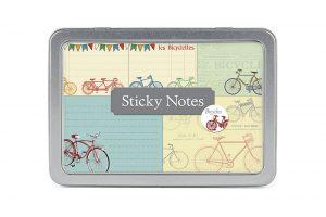 vintage-bicycle-sticky-note-set