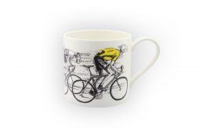 sprint-finish-yellow-jersey-bicycle-mug