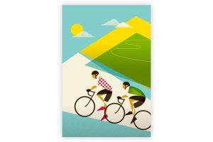 le-tour-alpe-dhuez-cycling-print-eleanor-grosch