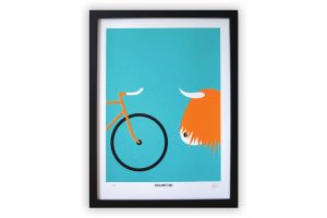 highland-fling-cycling-print-rebecca-j-kaye