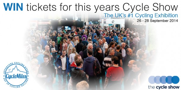 cyclemiles-competition-2-free-tickets-to-the-cycle-show-nec-birmingham