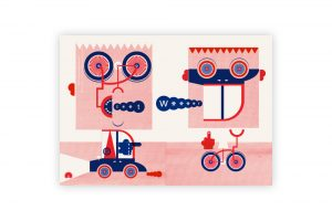 road-rage-cycling-print-mick-marston