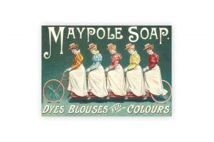 maypole-soap-bicycle-greeting-card