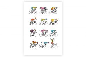 midlife-cyclists-cycling-print-simon-spilsburg