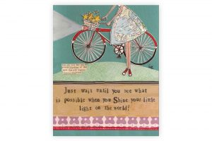 curly-girl-bicycle-art-block-shine-your-little-light