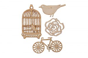 bird-rose-and-bicycle-wooden-craft-shapes