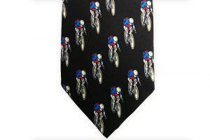 black-silk-racing-bicycle-tie