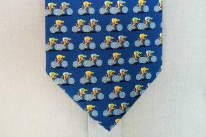 blue-silk-racing-bicycle-tie