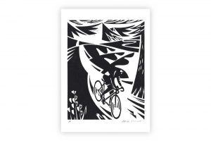 alpine-descent-bicycle-greeting-card