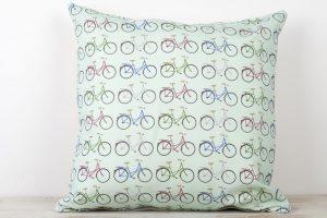 yellowstone-mint-bicycle-pattern-cushion
