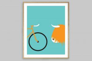 highland-fling-bicycle-poster-by-rebecca-j-kaye