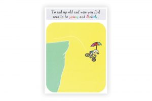 young-and-foolish-bicycle-greeting-card