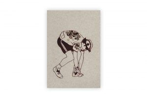 crouching-cyclist-bicycle-greeting-card-by-kim-jenkins