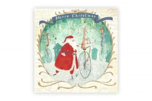 rudolph-bicycle-christmas-card-pack-x-5