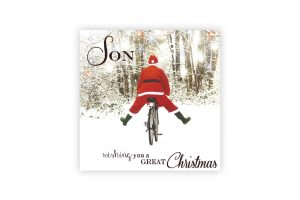 son-bicycle-christmas-card