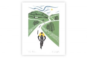 the-race-bicycle-greeting-card-2