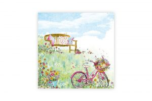 spring-flowers-bicycle-napkins