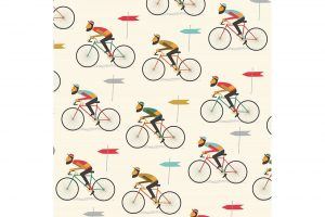 hipster-bicycle-wrapping-paper