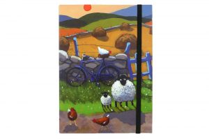 on-ewer-bike-bicycle-notebook