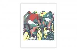 peloton-bicycle-greeting-card-by-paul-cleden