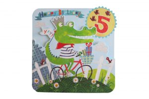 happy-5th-crocodile-bicycle-birthday-card