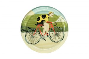 vintage-cyclist-glass-coaster