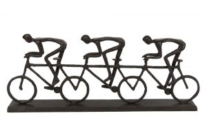 triple-racing-cyclists-bicycle-sculpture