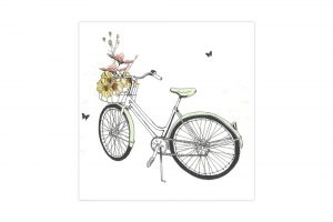 flower-bicycle-notelets-x-8