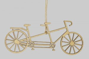 tandem-wooden-bicycle-decorations