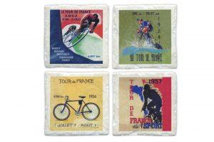 four-ceramic-tour-de-france-bicycle-coasters