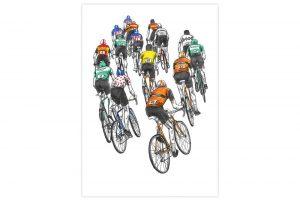 peloton-racing-cycling-print-by-david-sparshott