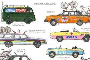 race-support-vehicles-cycling-print-by-david-sparshott