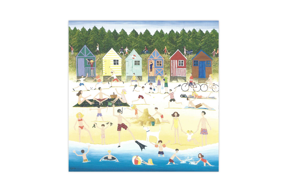 cycling-at-the-beach-bicycle-greeting-card