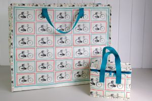 bicycle-foil-lined-lunch-bag