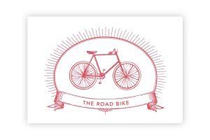 the-road-bike-bicycle-greeting-card