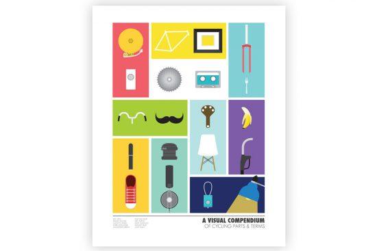 visual-compendium-of-cycling-poster-by-rebecca-j-kaye
