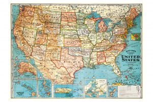 map-of-the-united-states-wrapping-paper