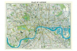 plan-of-london-wrapping-paper