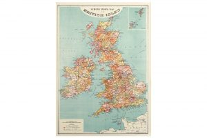 map-of-british-isles-wrapping-paper