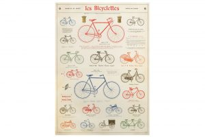 les-bicyclettes-wrapping-paper